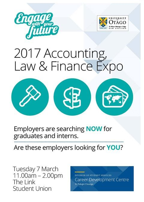 Accounting, Law and Finance Careers Expo